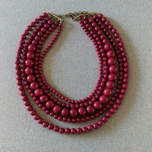 BaubleBar 5 strand necklace